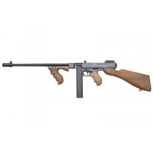 "Auto Ordnance 1927A1C Rifle Lightweight .45ACP 16.5"" Barrel Walnut Stock 30rd Black Finish T5"