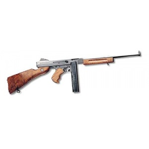 "Auto Ordnance 1927M1 Rifle Lightweight .45ACP 16.5"" Barrel Walnut Stock 30rd Black Finish TM1C"