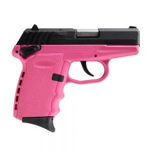 """SCCY CPX-1 9MM 10rd 3.1"""" Black/Pink"""