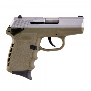SCCY CPX-1 9MM 10rd satin/FDE