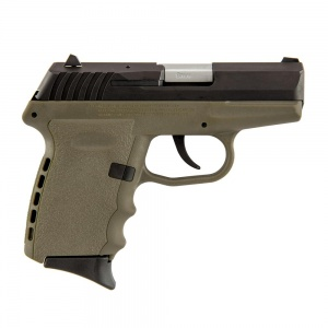 SCCY CPX-2 9MM 10rd Black/FDE 3.1""