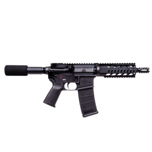 "DIAMONDBACK DB15 Pistol 5.56NATO 7.5"" Barrel 30rd Black DB15PB7"