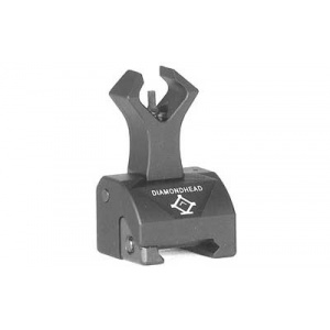 Diamondhead Gas Block Front Combat Sights 5.56mm Black
