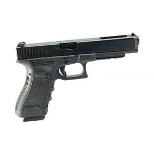 "GLOCK 34 9mm Longslide 5.31"" Barrel Practical/Tactical Adj Sights OEM Rail 17rd Black 3430103"
