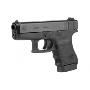 "GLOCK 36 .45ACP 3.78"" Barrel Fixed Sights 6rd Black 3650201"