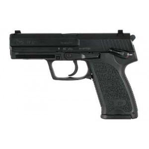 "HK USP-Fixed Sights 9mm 4.25"" Black V1 DA/SA 10rd"