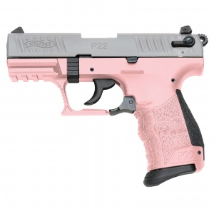 Walther P22 .22LR 10rd 3-DOT Pink WY5120358